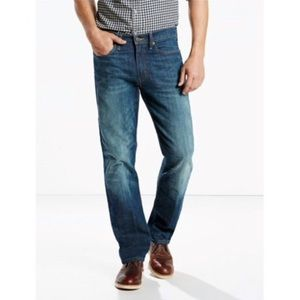Levi's 514 34x34 Straight Fit Jeans Distressed